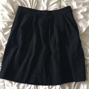 Pleated Black Madewill miniskirt